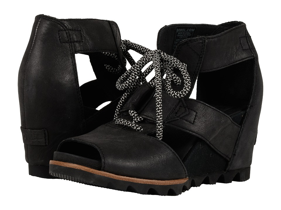 SOREL Joanie Lace (Black/Sea Salt)