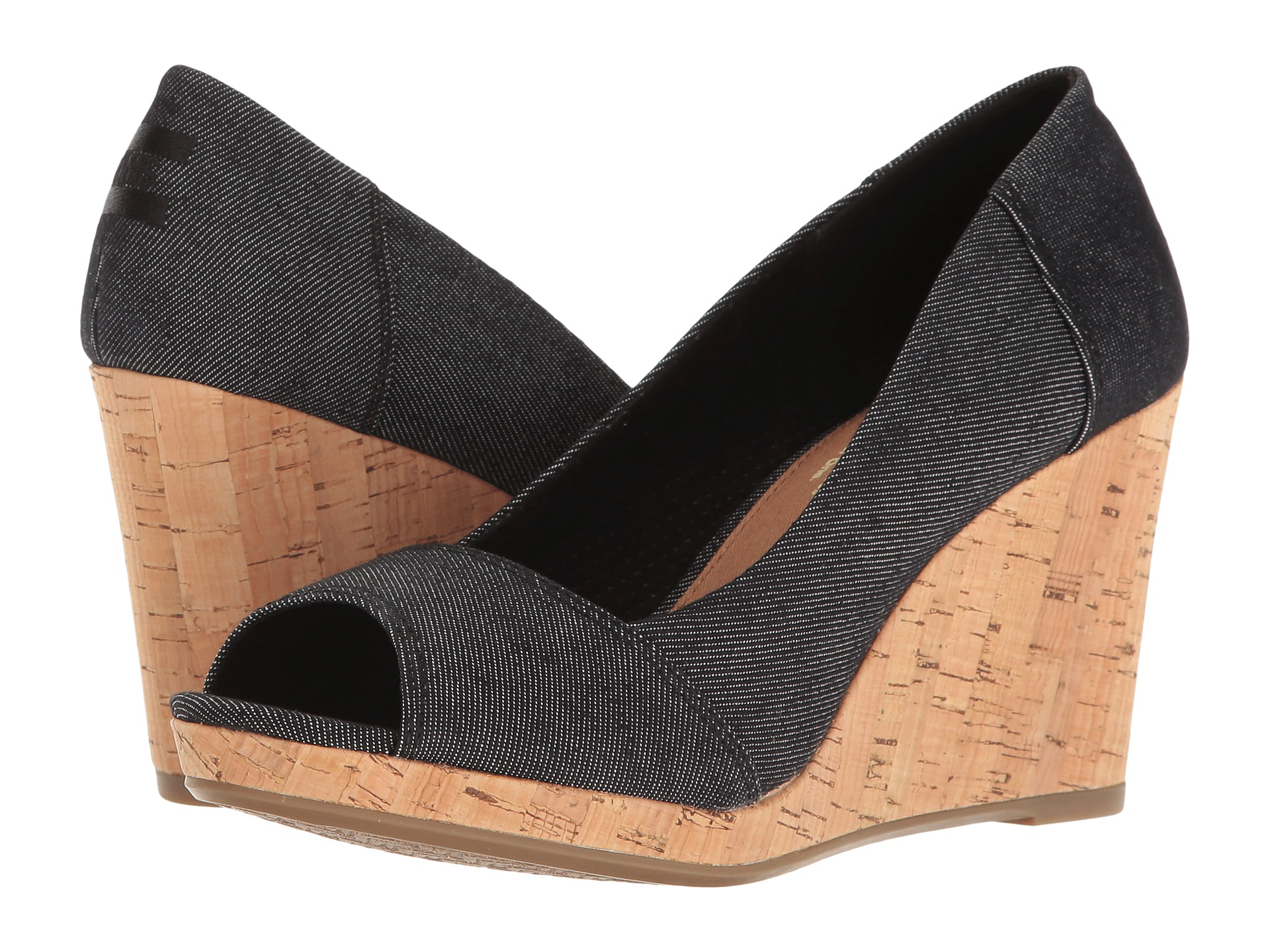 TOMS Stella Wedge at Zappos.com