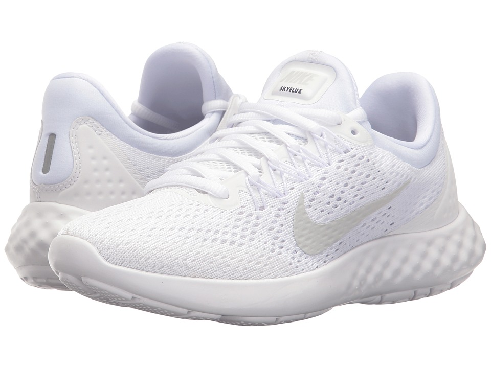 Nike Lunar Skyelux (White/Pure Platinum/Off-White) Women'...