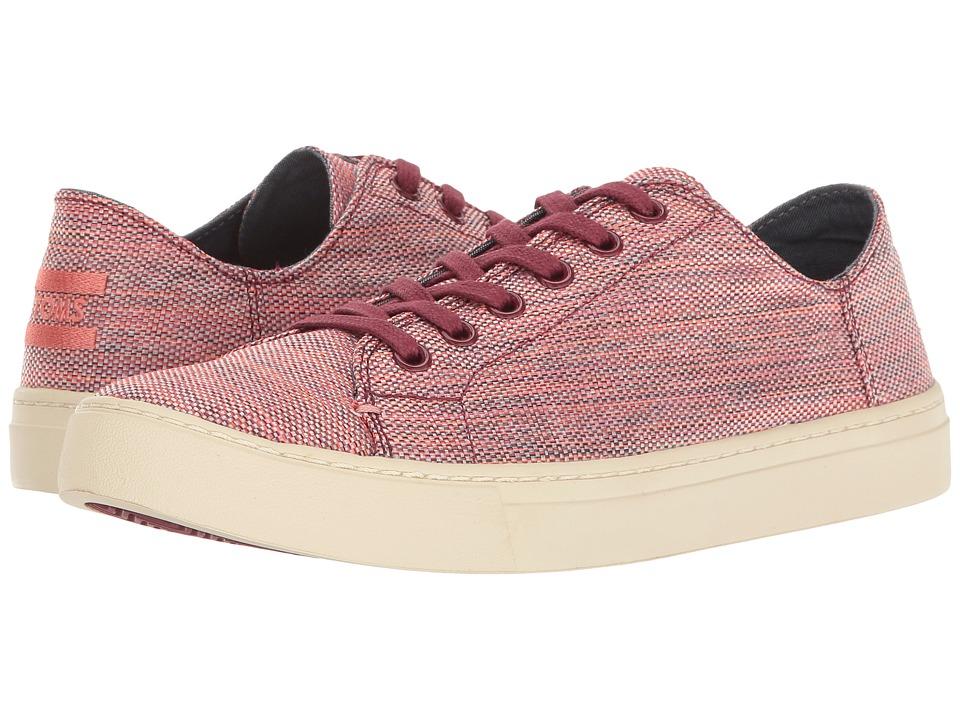 TOMS Lenox Sneaker (Pomegranate Woven Melange) Women