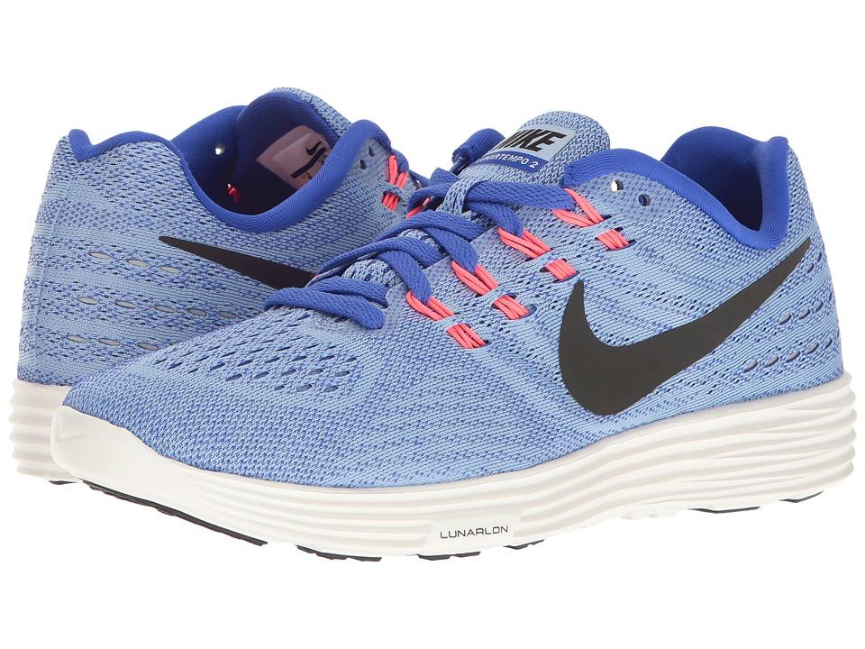 Nike - Lunartempo 2 (Aluminum/Black/Paramount Blue/Hot Punch) Womens Running Shoes