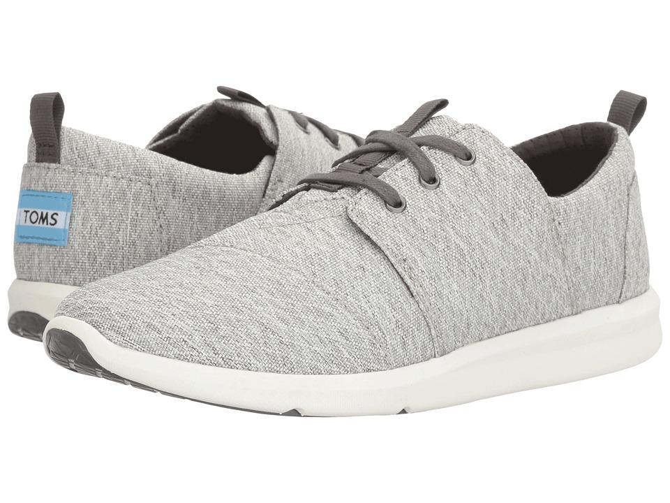 TOMS Del Rey Sneaker (Grey Diamond Melange)