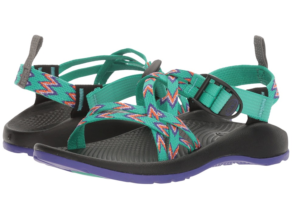 Chaco Kids - ZX/1(r) Ecotread (Toddler/Little Kid/Big Kid) (Mint Leaf) Girls Shoes