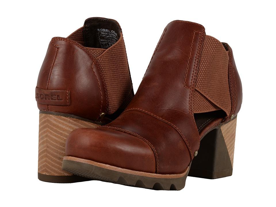 SOREL Addington Cut Out (Rustic Brown/Major) High Heels