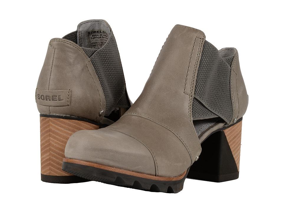SOREL Addington Cut Out (Dove/Quarry) High Heels