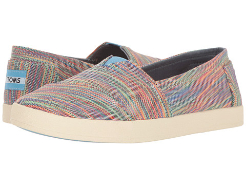TOMS Avalon Slip-On - Blue Aster Multi Space Dye