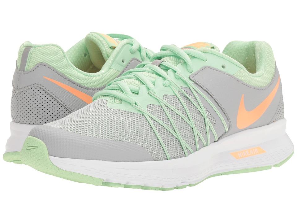 Nike - Air Relentless 6 (Wolf Grey/Sunset Glow/Fresh Mint) Womens Running Shoes