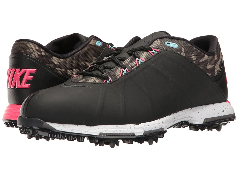 Nike Golf Nike Lunar Fire (Black/Racer Pink/Cargo Khaki/Vivid Sky) Men