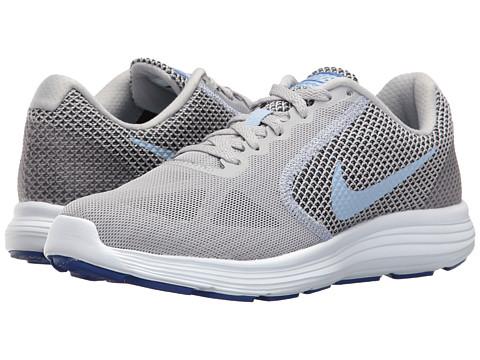 Nike Revolution 3 - Wolf Grey/Aluminum/Black/Blue Tint