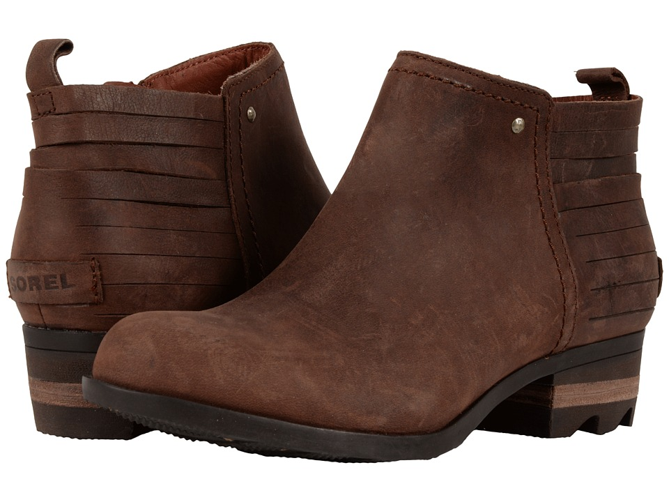SOREL Lolla Bootie (Rustic Brown/Redwood) Women