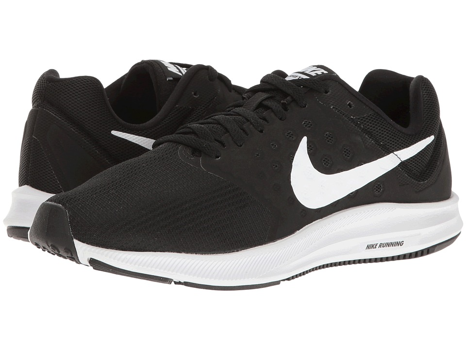 Nike Downshifter 7 (Black/White/Anthracite) Women's Running Shoes