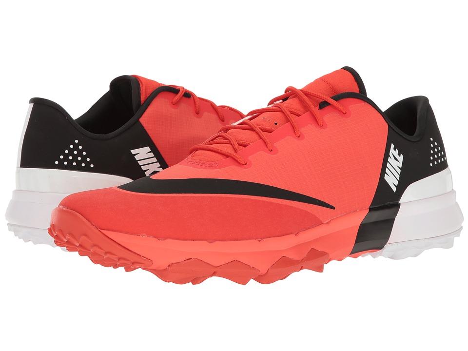 Nike Golf - Flex (Max Orange/Black/White) Mens Golf Shoes