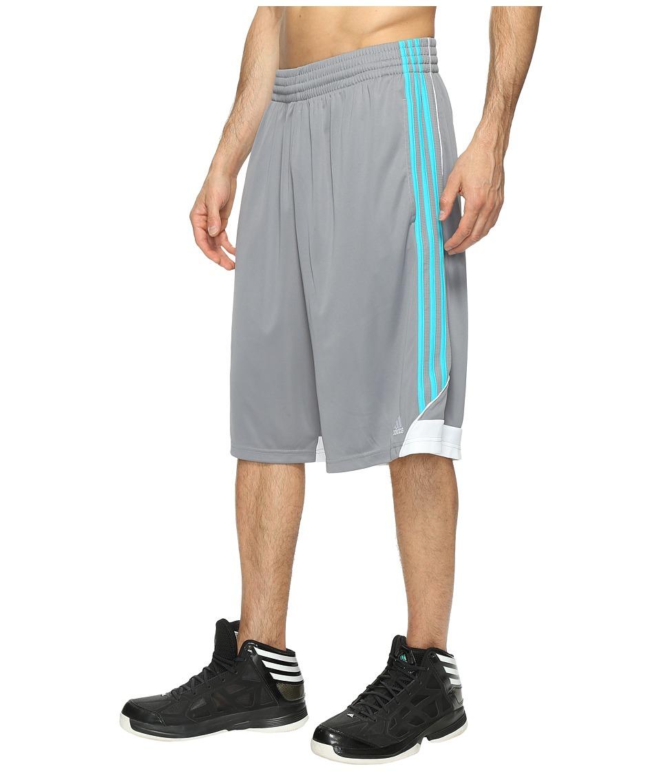 adidas 3G Speed Short (Grey/Energy Blue) Men