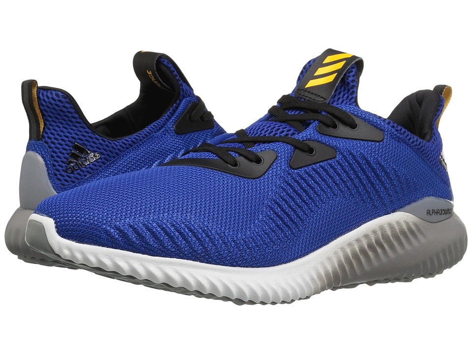 Image of adidas Running - Alphabounce (Collegiate Royal/Solar Gold/Easy Mint) Men's Running Shoes