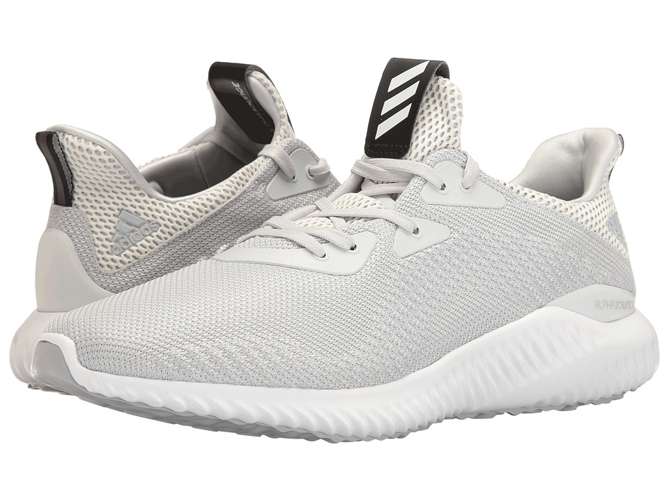 adidas Running - Alphabounce (Crystal White/Clear Grey/Clear Onix) Mens Running Shoes