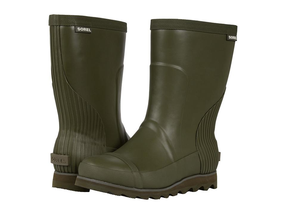 SOREL Joan Rain Short (Nori/Zest) Women's Rain Boots