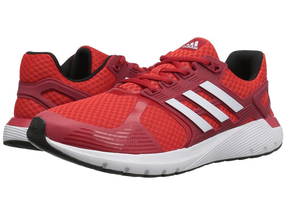 adidas Running - Duramo 8 (Core Red/Footwear White/Core Black) Mens Running Shoes