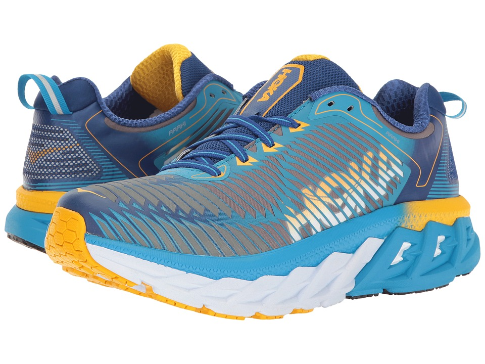 Hoka One One Arahi (Dresden Blue/Gold Fusion) Women