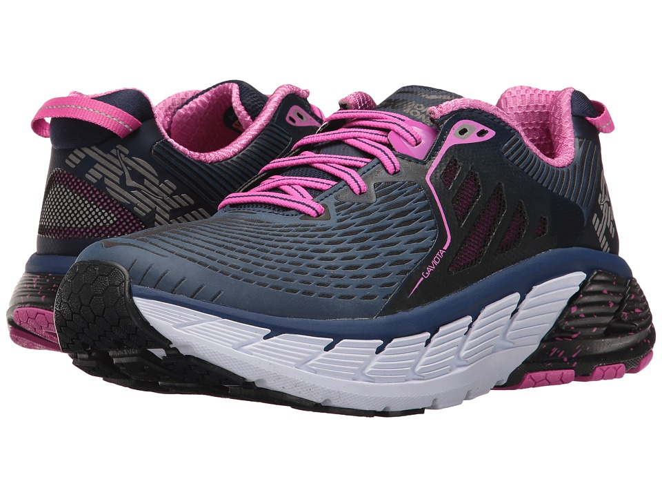 Hoka One One Gaviota (Medieval Blue/Fuchsia) Women's Running Shoes