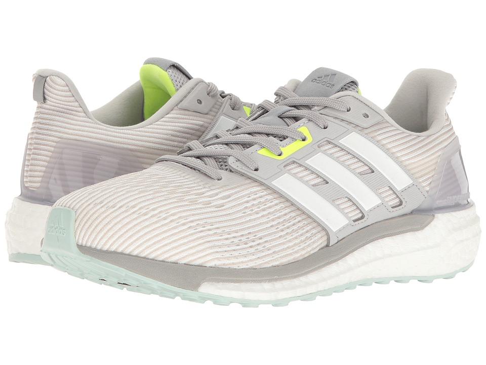 adidas Running Supernova (Light Grey Heather Solid Grey/Footwear White/Medium Grey Heather) Women