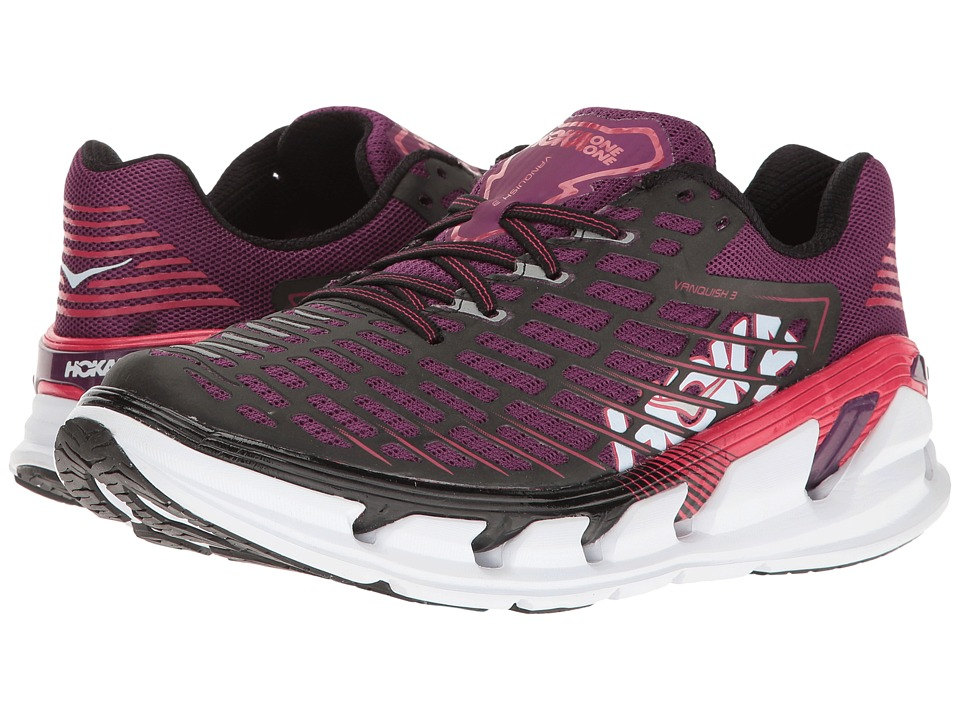Hoka One One - Vanquish 3 (Grape Juice/Virtual Pink) Wome...