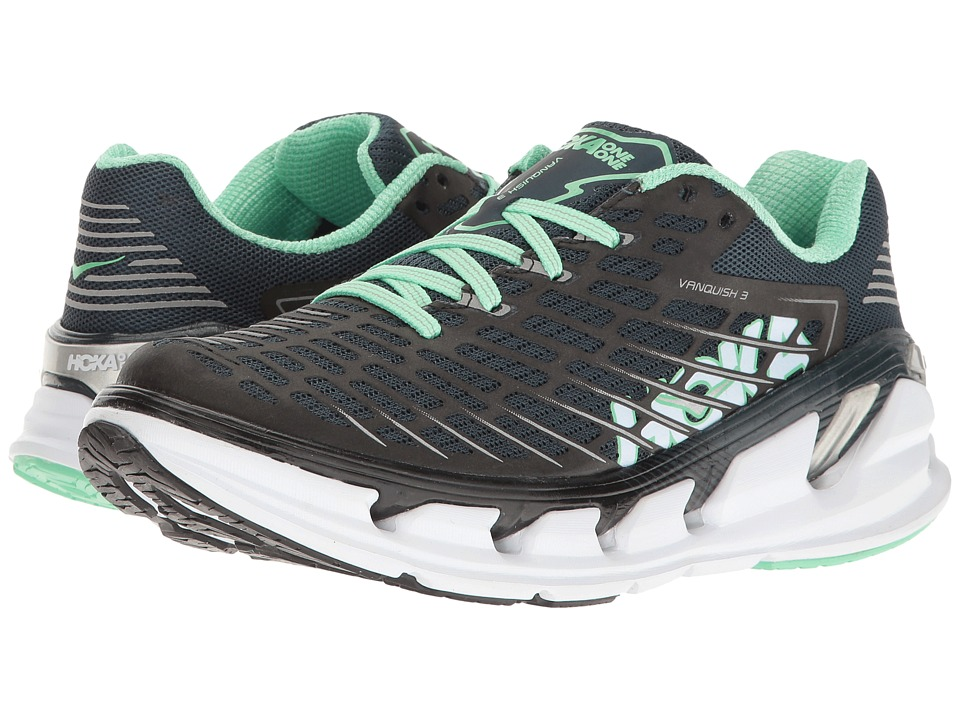 Hoka One One Vanquish 3 (Midnight Navy/Spring Bud) Women's Running Shoes