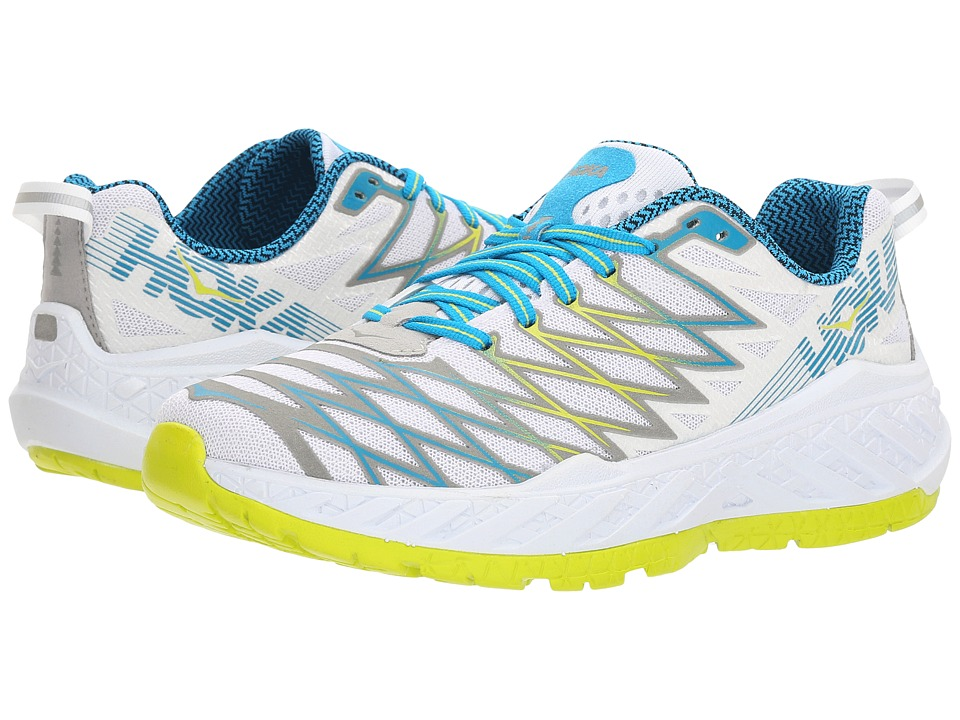 Hoka One One Clayton 2 (White/Acid) Women