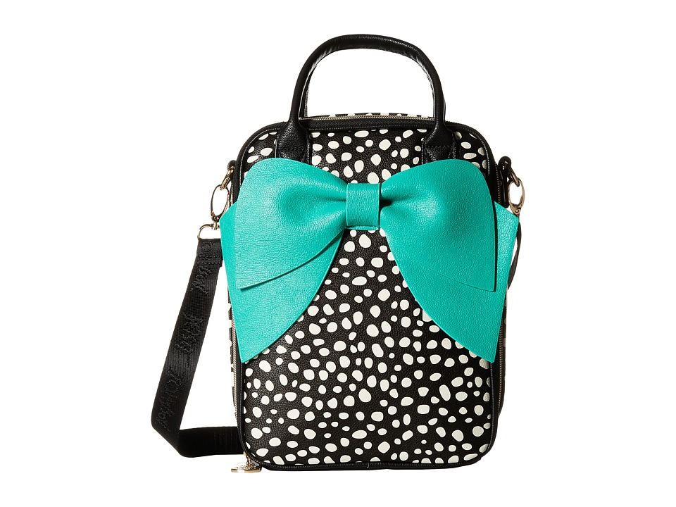 Betsey Johnson - Bow Lunch Tote (Spot) Tote Handbags