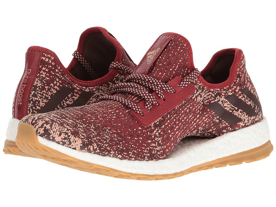 adidas Running Pureboost X ATR (Mystery Red/Night Red/Tech Rust Metallic) Women