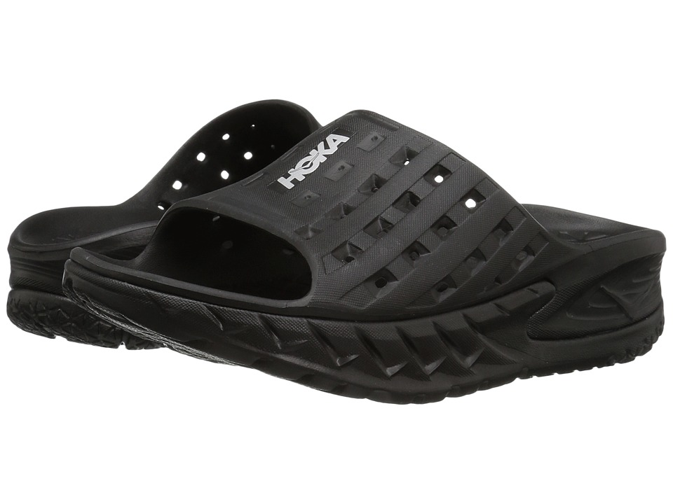 Hoka One One Ora Recovery Slide (Black/Anthracite) Women
