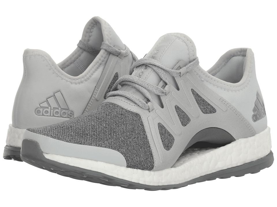 Adidas Running - PureBOOST Xpose (Clear Grey/Silver Metal...