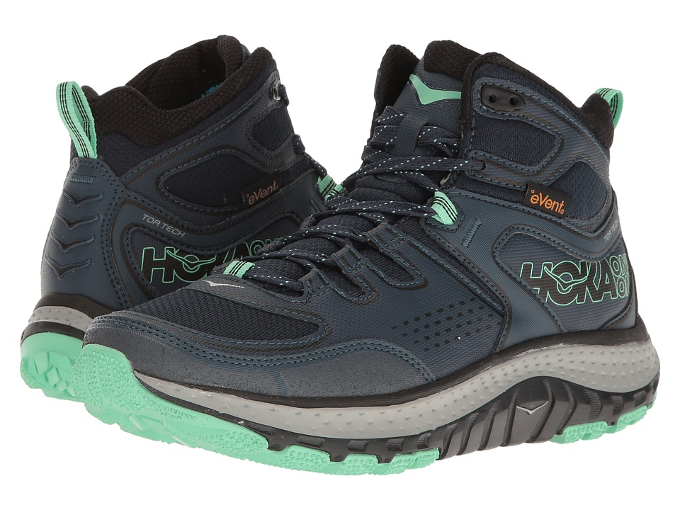 Hoka One One - Tor Tech Mid WP (Midnight Navy/Spring Bud)...