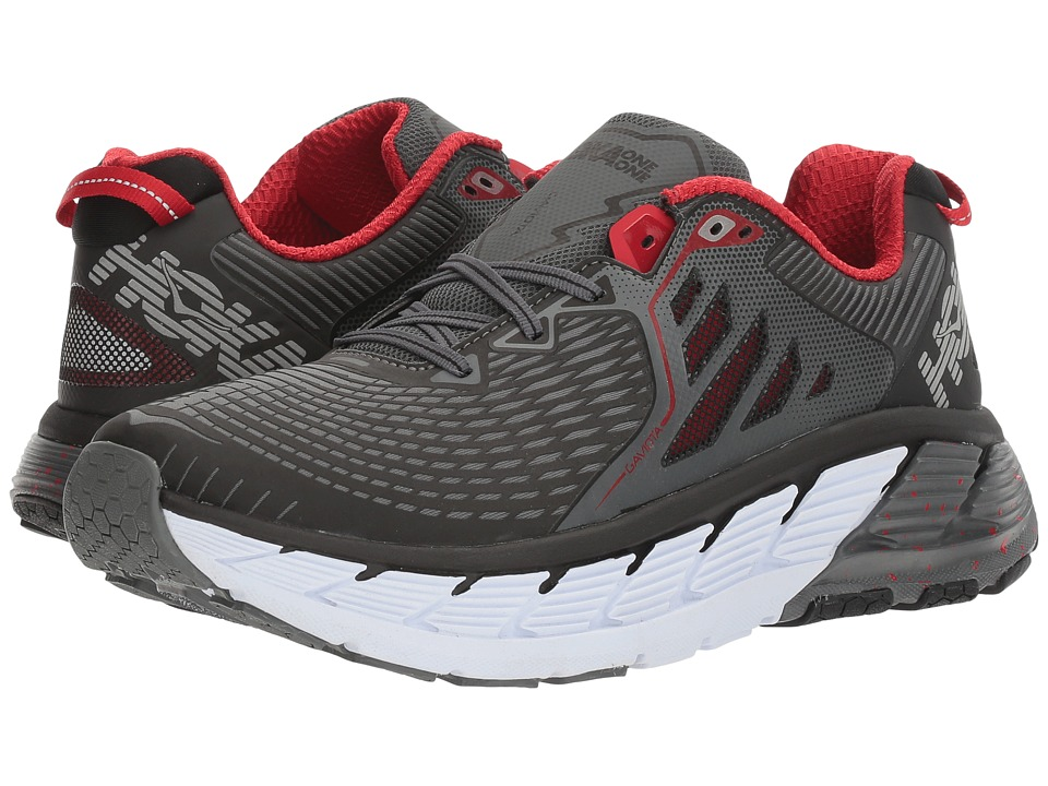 Hoka One One - Gaviota (Black/Formula One) Mens Running Shoes
