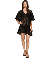 JETS by Jessika Allen - Pure Embroidered V-Neck Kaftan Cover-Up