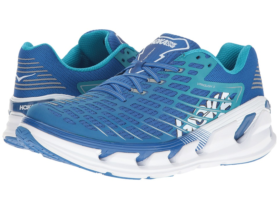Hoka One One - Vanquish 3 (Medieval Blue/Blue) Mens Running Shoes