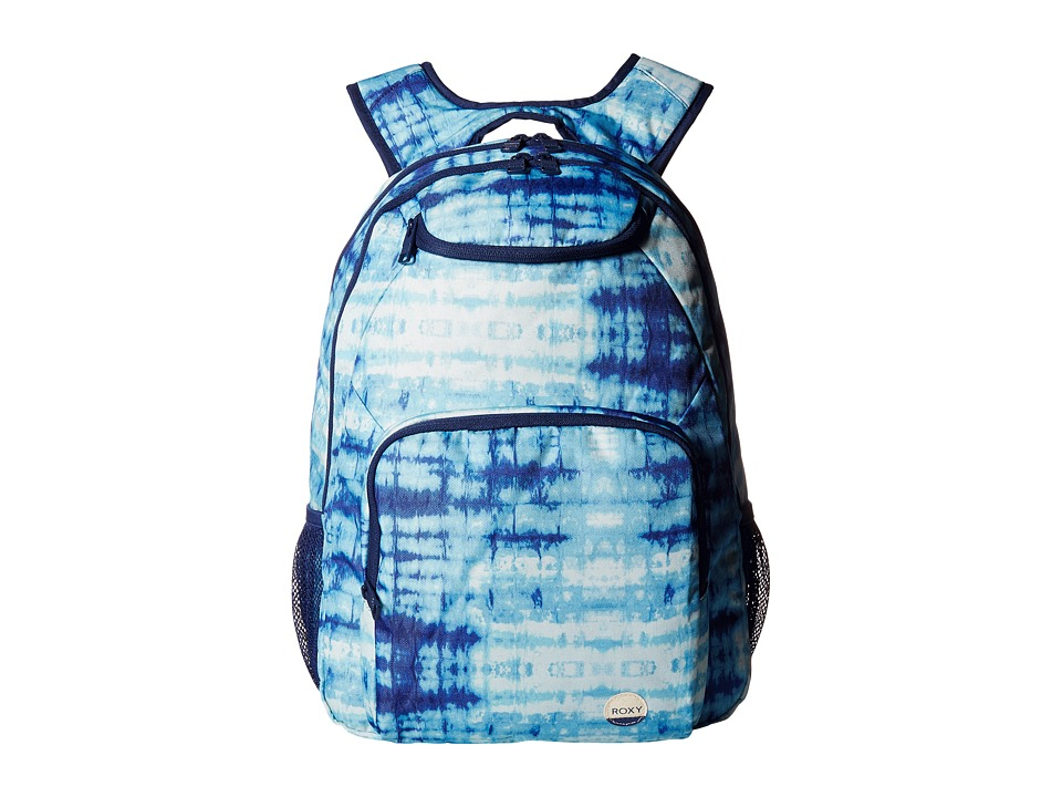 Roxy Shadow Swell (Marshmallow Antares Tie-Dye) Backpack Bags