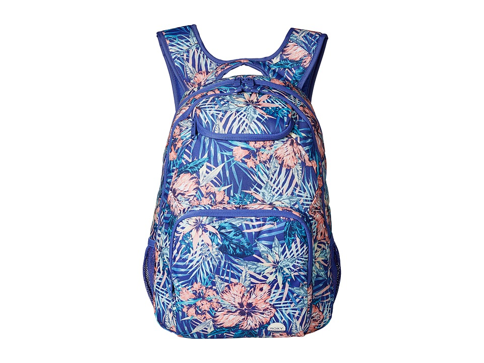 Roxy Shadow Swell (Royal Blue Beyond Love) Backpack Bags