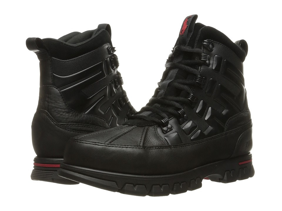 Polo Ralph Lauren Delton (Black) Men\u0026#39;s Lace up casual Shoes
