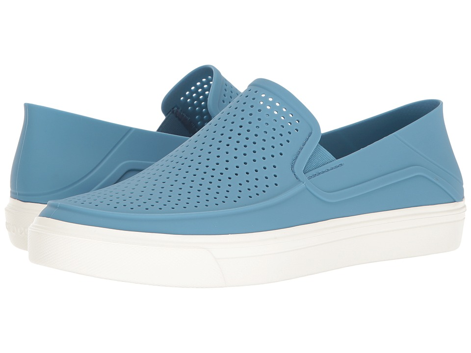 Crocs CitiLane Roka Slip-On (Dusty Blue/White) Men