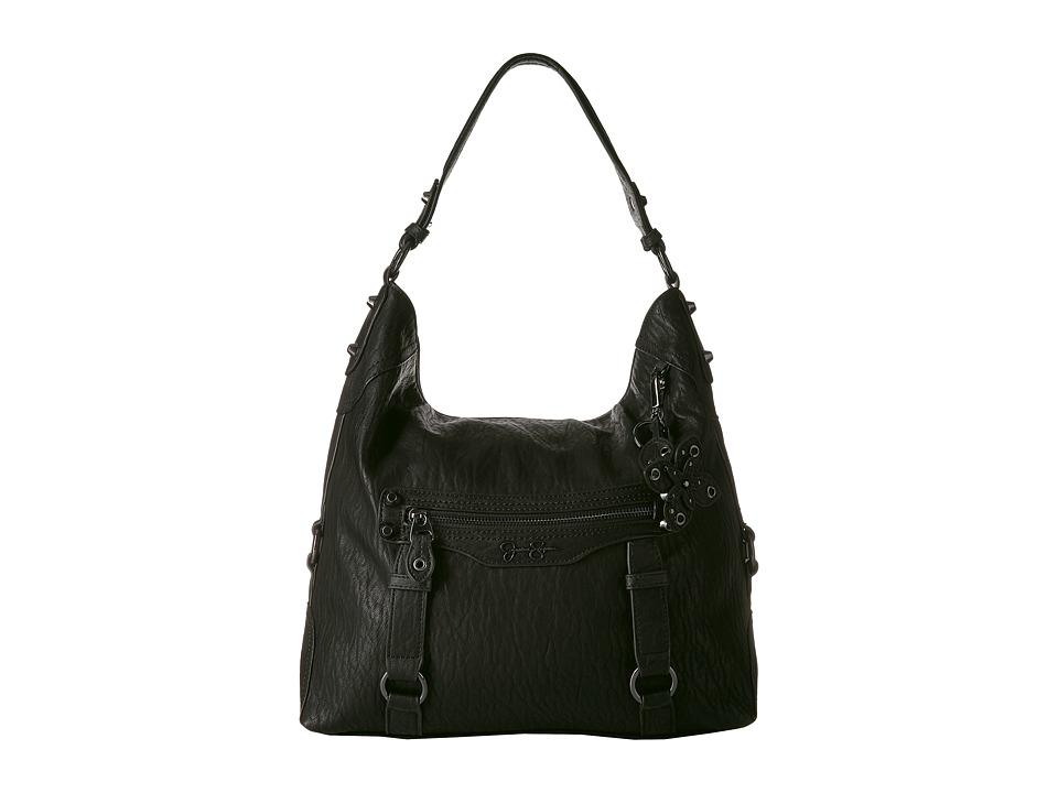 Jessica Simpson - Carlyn Hobo (Black) Hobo Handbags