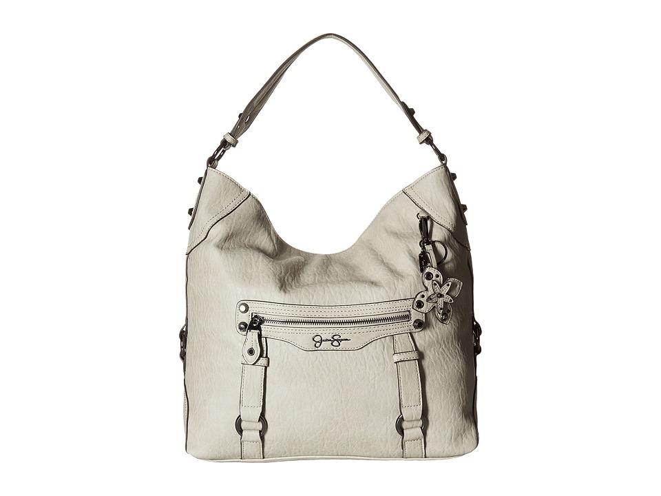 Jessica Simpson - Carlyn Hobo (Cloud Grey) Hobo Handbags