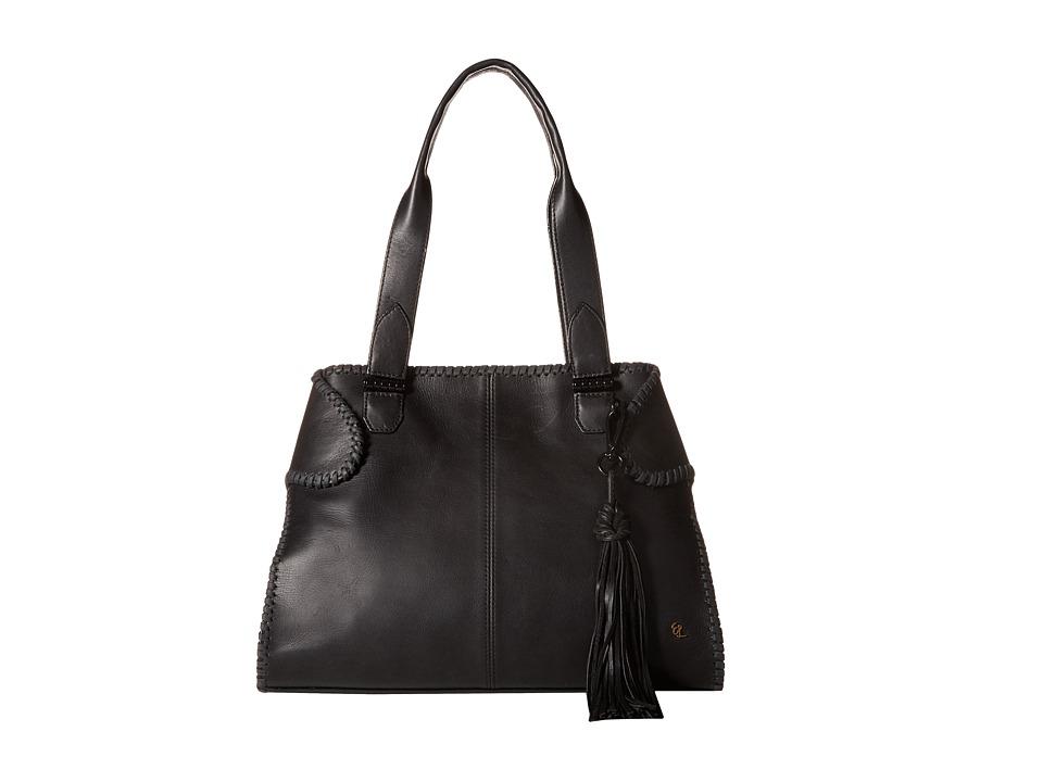 Elliott Lucca - Gisele Satchel (Black Kusuma) Satchel Handbags