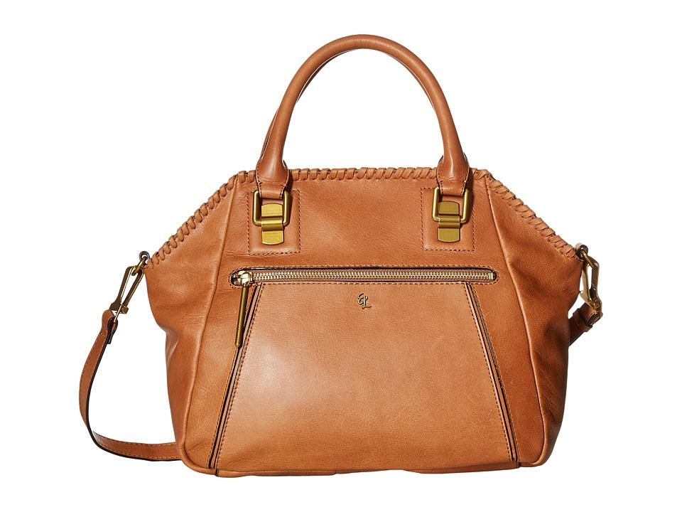 Elliott Lucca - Faro City Satchel (Tobacco Kusuma) Satchel Handbags