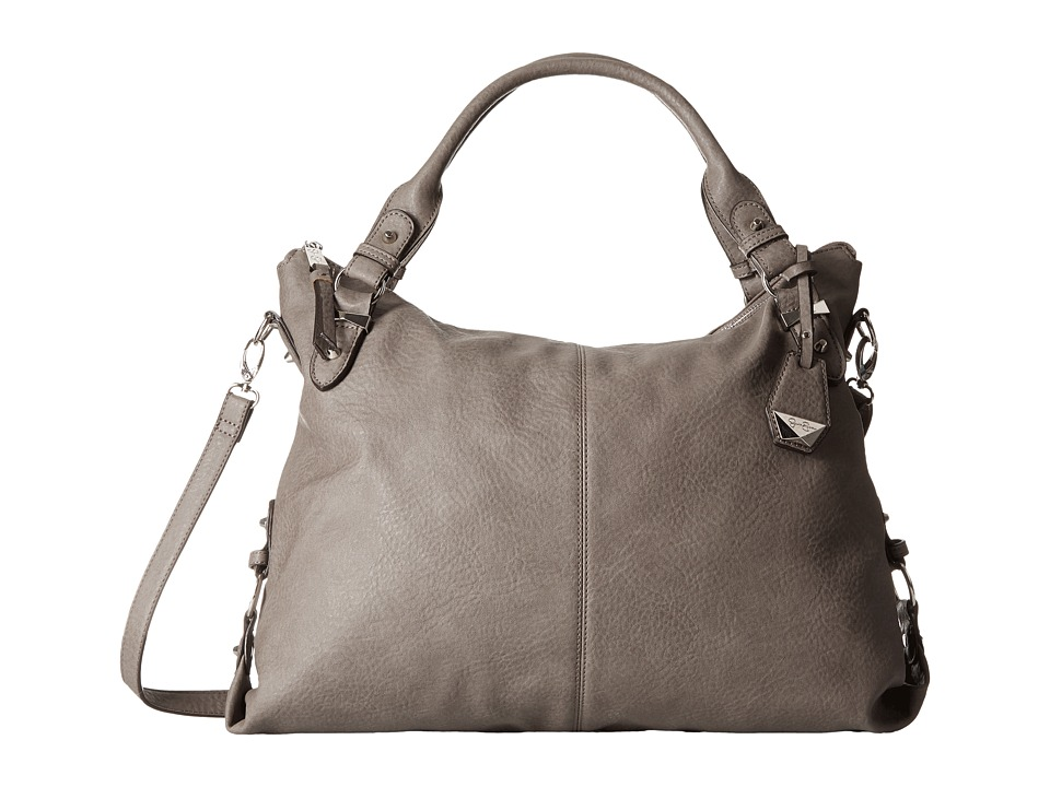 Jessica Simpson - Mara Crossbody Tote (Steel) Satchel Handbags