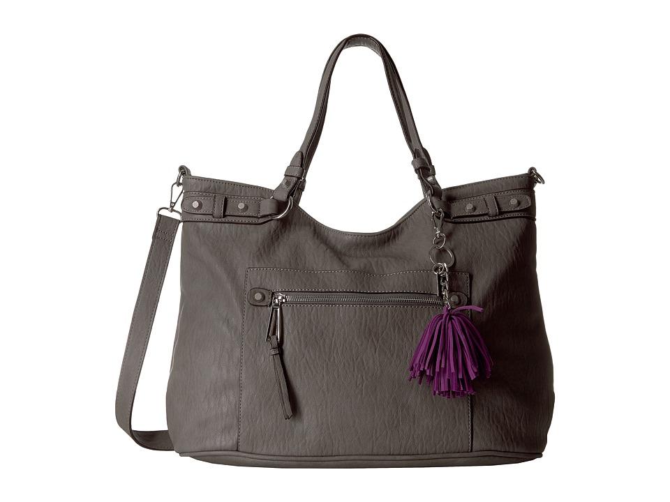 Jessica Simpson - Miley Tote (Steel) Tote Handbags