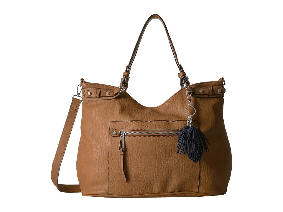 Jessica Simpson - Miley Tote (Cognac) Tote Handbags