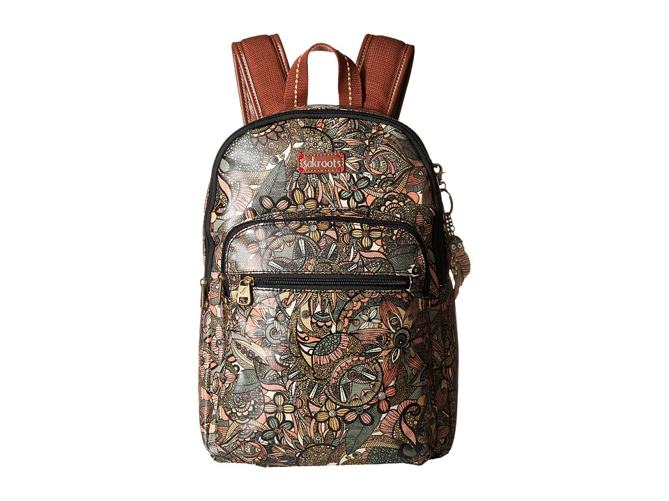 Sakroots - Artist Circle Mini Backpack (Sienna Spirit Desert) Backpack Bags