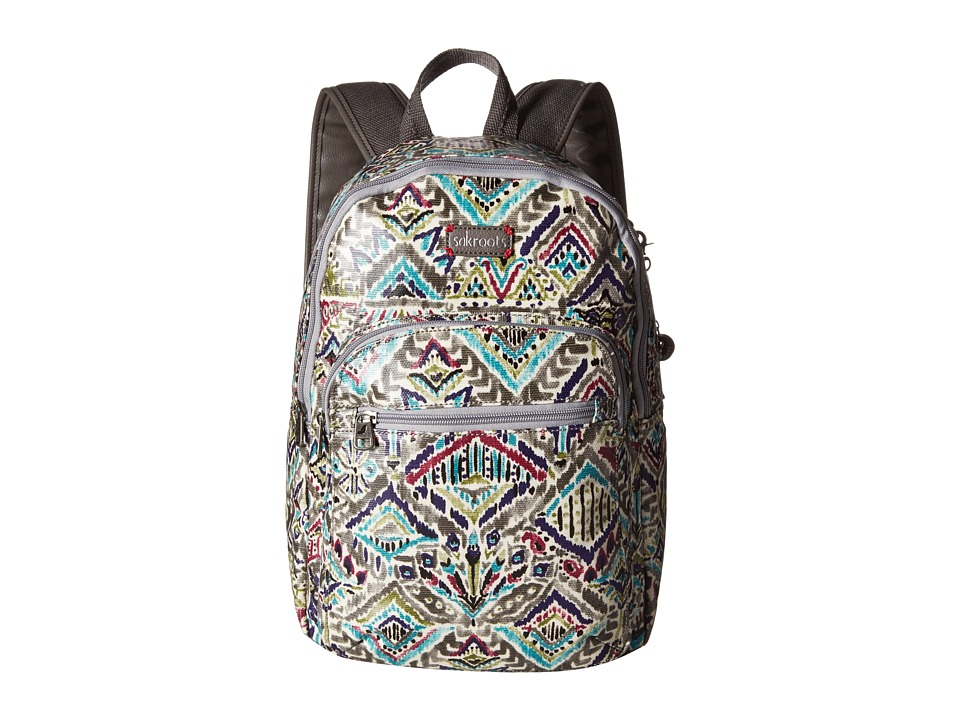Sakroots - Artist Circle Mini Backpack (Slate Brave Beauti) Backpack Bags