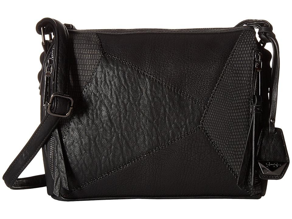 Jessica Simpson - Pamela Top Zip Crossbody (Black) Cross Body Handbags
