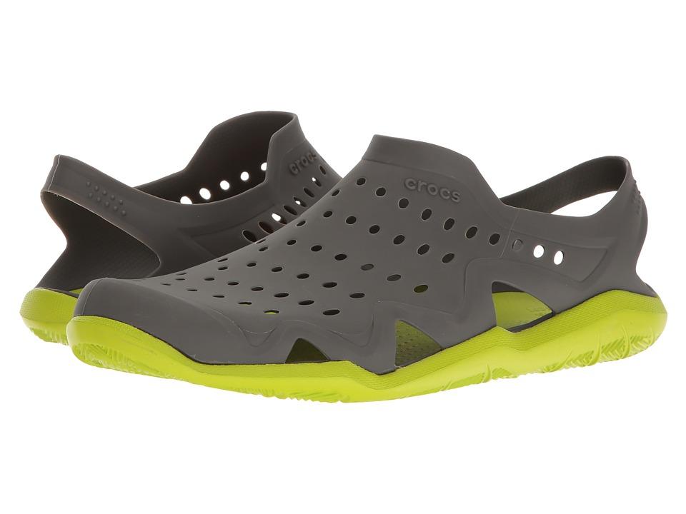 Crocs Swiftwater Wave (Graphite/Volt Green) Men